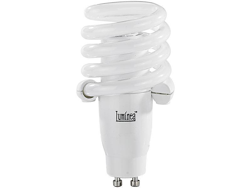 luminea schnellstart energiesparlampe gu10 15 watt 230. Black Bedroom Furniture Sets. Home Design Ideas