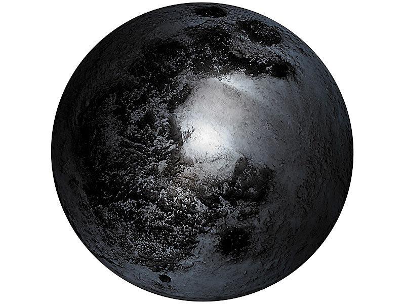 Lunartec Kabellose Deckenleuchte Kabellose Mondphasen Lampe Mit