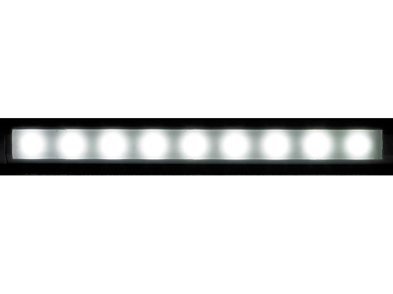 Lunartec LED-Lichtleiste Sensor: Automatische LED
