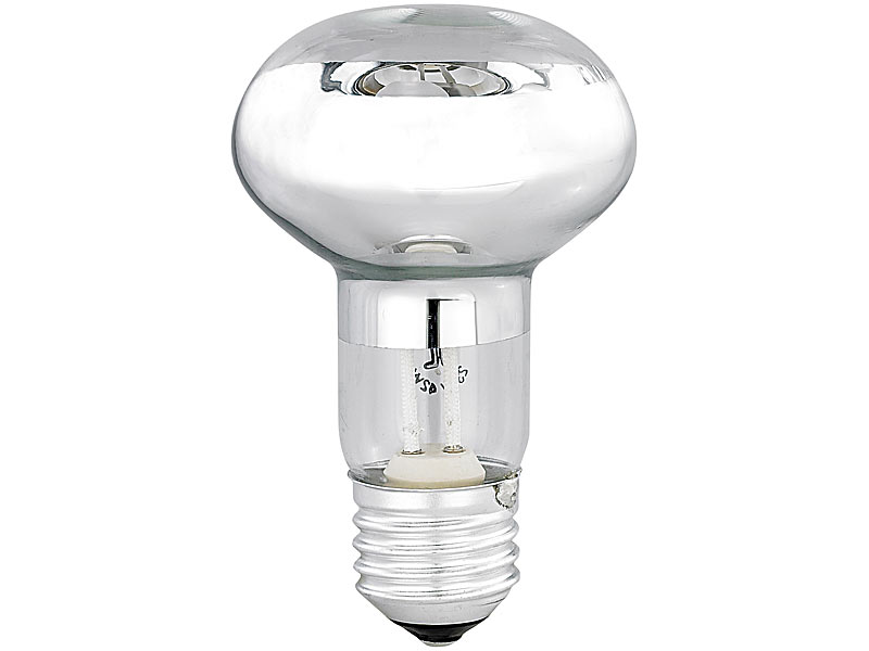 luminea halogen reflektor r63 e27 270 lumen 230 volt. Black Bedroom Furniture Sets. Home Design Ideas