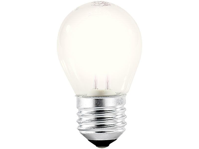 luminea halogengl hbirne halogen gl hbirne g45 e27 28 watt 370 lumen warmwei. Black Bedroom Furniture Sets. Home Design Ideas
