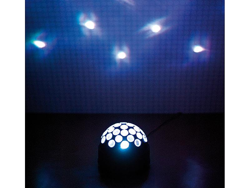 lunartec disco effektkugel fireball f r zu hause. Black Bedroom Furniture Sets. Home Design Ideas