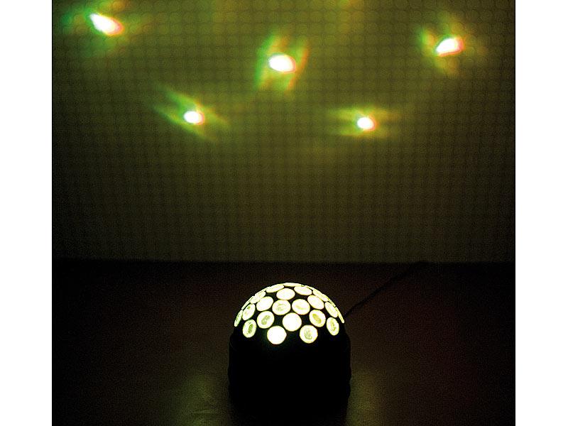 lunartec discolicht f r zu hause disco effektkugel fireball f r zu hause disco lichter f r. Black Bedroom Furniture Sets. Home Design Ideas