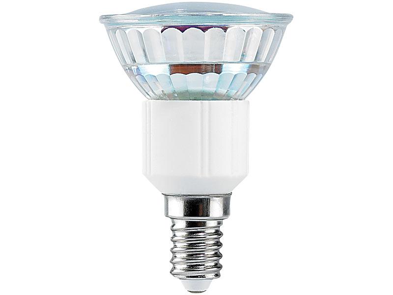 Luminea smd led lampe e14 24 leds rot 15 lm - Lampe e14 led ...