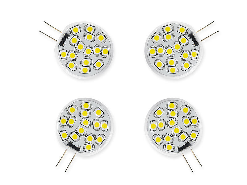 Luminea Led Lampe G4 Warmlicht Led Stiftsockellampe 15 Smd Leds