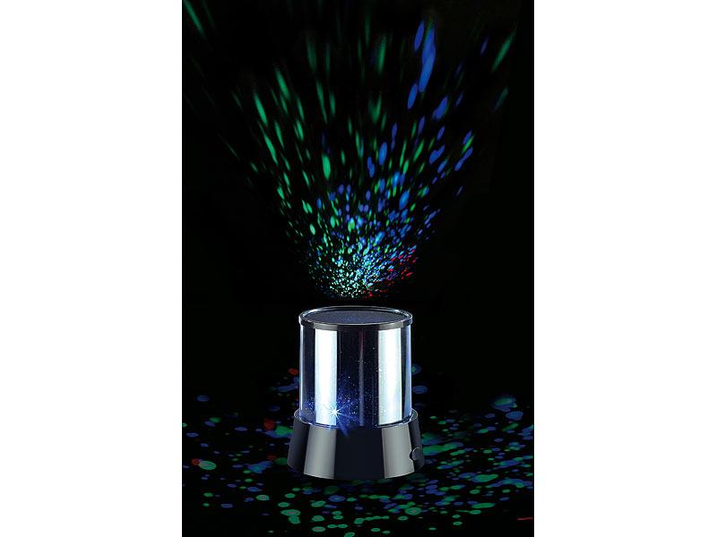 lunartec sternenprojektor led mobiler mini sterne projektor mit 3 leuchtprogrammen projektor. Black Bedroom Furniture Sets. Home Design Ideas