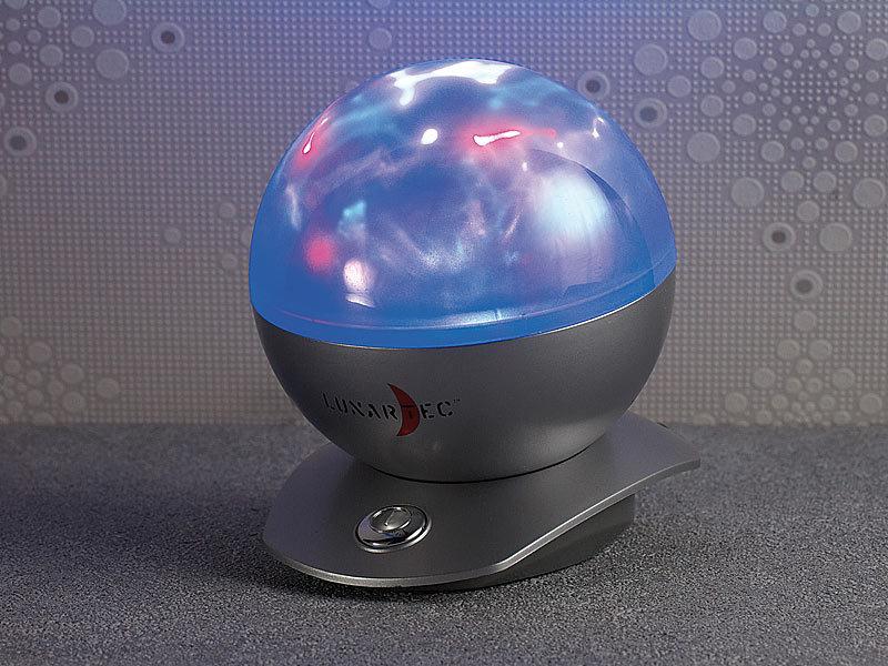 lunartec laser kugel lampe mit polarlicht effekten. Black Bedroom Furniture Sets. Home Design Ideas