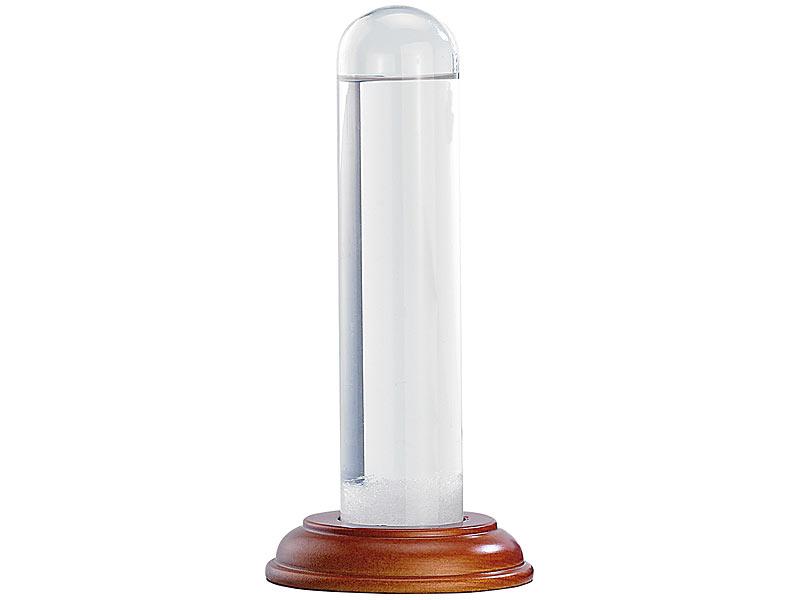 FitzRoy-Sturmglas (Barometer) aus echtem Glas, 17 cm