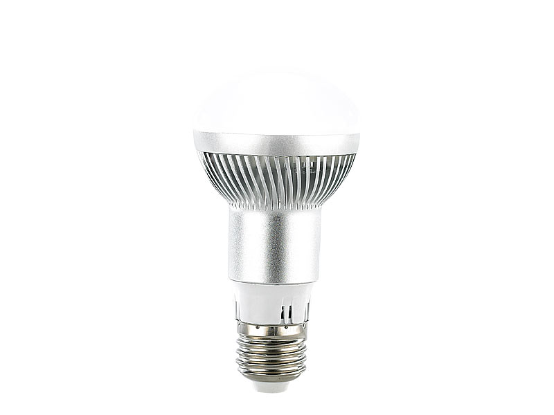 luminea led reflektor led energiespar reflektorlampe e27 r63 6000 k 280 lumen 5 5 watt. Black Bedroom Furniture Sets. Home Design Ideas