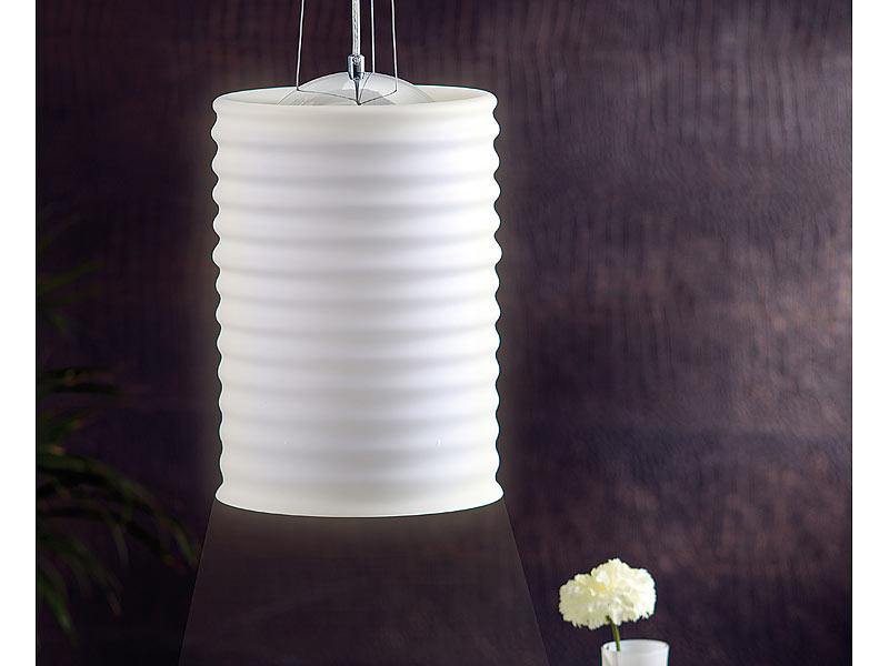 carlo milano gro e pendel leuchte aus milchglas. Black Bedroom Furniture Sets. Home Design Ideas