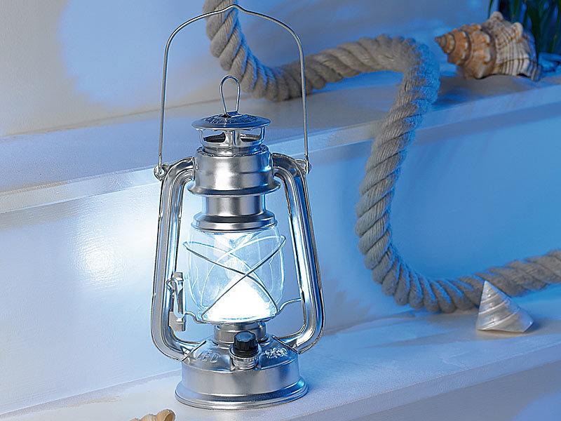 lunartec dimmbare led sturmlampe ocean in echtem l. Black Bedroom Furniture Sets. Home Design Ideas
