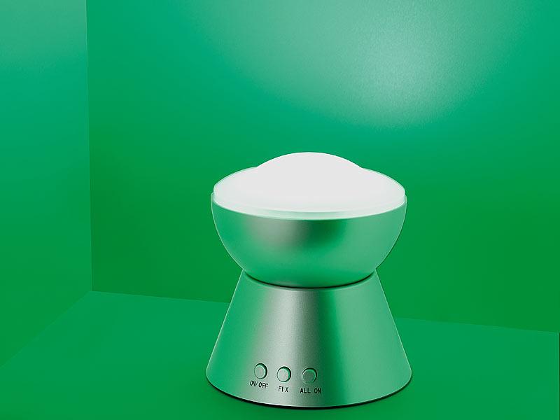 lunartec farbwechsel lampe mit regenbogen leds. Black Bedroom Furniture Sets. Home Design Ideas
