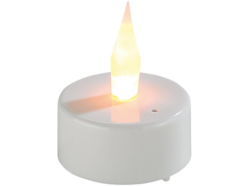 lunartec k nstliche teelichter led teelichter mit luftzugsensor und beweglicher flamme 4er set. Black Bedroom Furniture Sets. Home Design Ideas