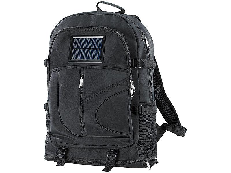 d70e9813385d8 Xcase Solar Rucksack mit Ladefunktion für Mobiltelefon