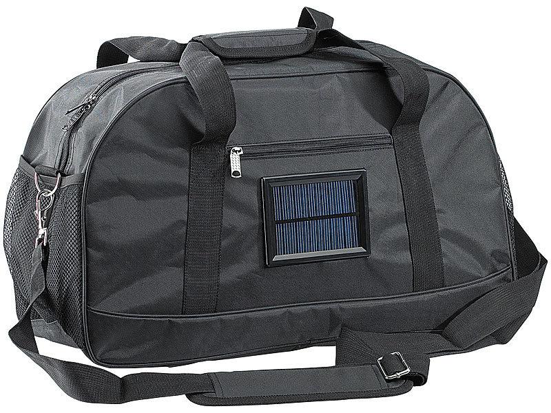 f41f17876935d Xcase Sport-Taschen  Solar-Reise- und Sporttasche mit Ladefunktion ...