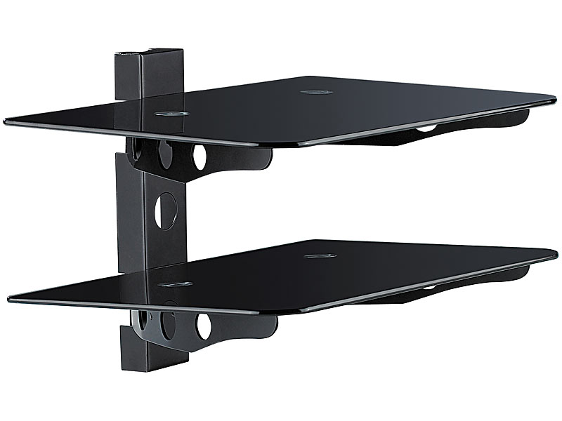 Hifi rack wand  dream audio 2-fach Universal-HiFi- & DVD-Rack