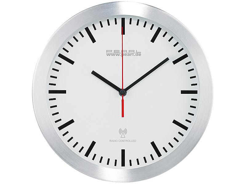 Uhrwerk mit 3 Zeiger Wanduhr uhr Quarz Uhrwerk leises Uhrwerk Vintage  Schwarz