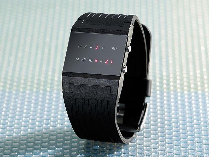 Moderne armbanduhr  St. Leonhard Binär-Armbanduhr