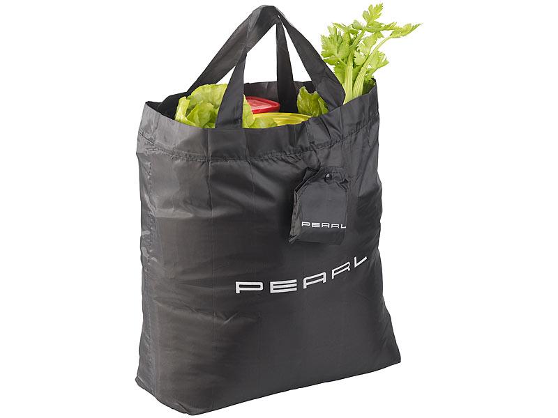 4035e13fc9f3c PEARL Faltbare Einkaufstasche mit Schutzhülle