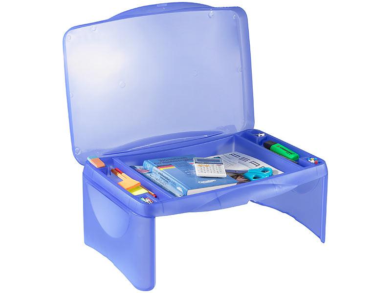 general office mobiler notebook tisch mit integrierter ablage. Black Bedroom Furniture Sets. Home Design Ideas
