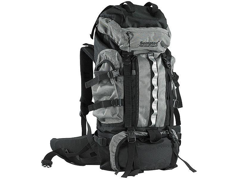 Semptec Wanderrucksack: Trekking-Rucksack mit Aluminium-Rahmen, 70 ...