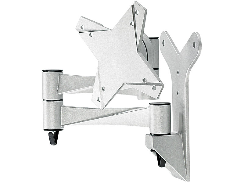 general office monitor wandhalterung schwenkbare tft wandhalterung aus aluminium schwenkbare. Black Bedroom Furniture Sets. Home Design Ideas