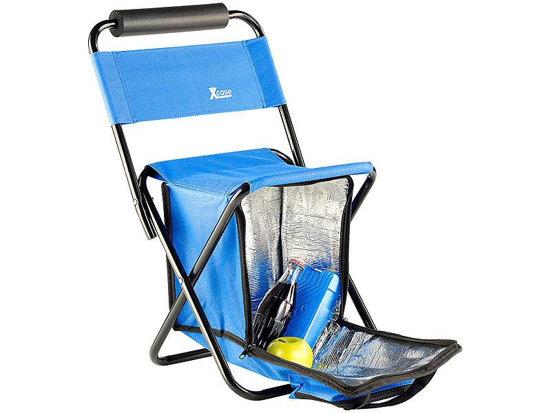 xcase mini klappstuhl mit k hltasche. Black Bedroom Furniture Sets. Home Design Ideas