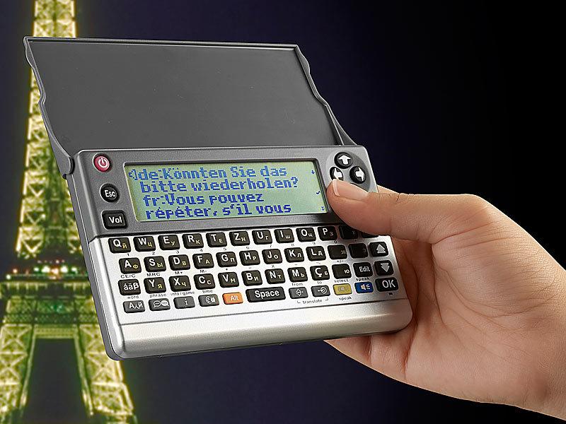 Laser Entfernungsmesser Im Handgepäck : Linguatis digitaler 10in1 reiseübersetzer vt 410 mit sprachausgabe