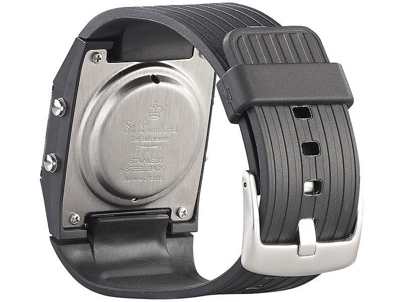 st leonhard armbanduhr mit wecker sprechende herren armbanduhr mit weckfunktion uhr mit. Black Bedroom Furniture Sets. Home Design Ideas