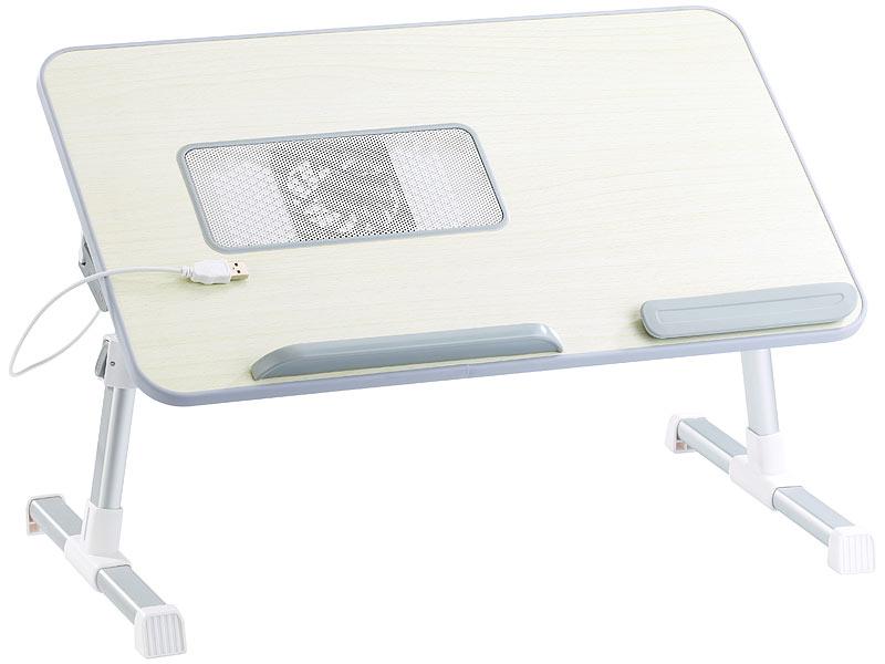 general office ergonomisch verstellbarer notebooktisch mit l fter. Black Bedroom Furniture Sets. Home Design Ideas