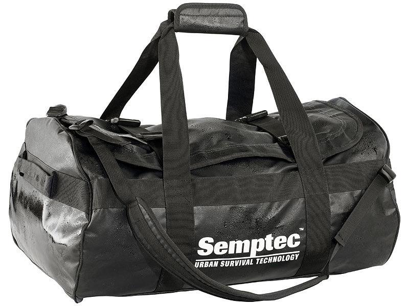 semptec rucksack reisetasche aus lkw plane 65 l. Black Bedroom Furniture Sets. Home Design Ideas