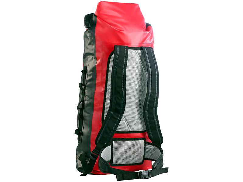 c5be54961b076 50  Semptec Urban Survival Technology Wasserdichter Trekking-Rucksack aus  Lkw-Plane