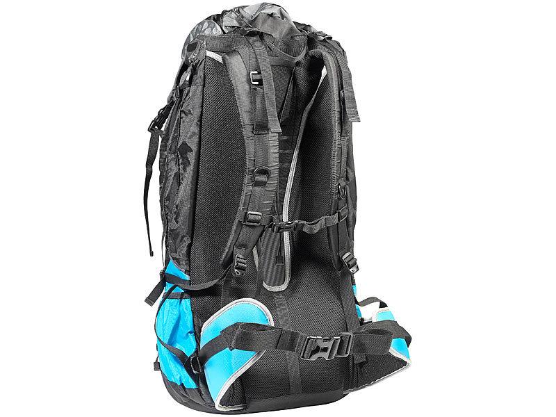 Semptec Camping Rucksack: Profi-Trekking-Rucksack mit Aluminium ...