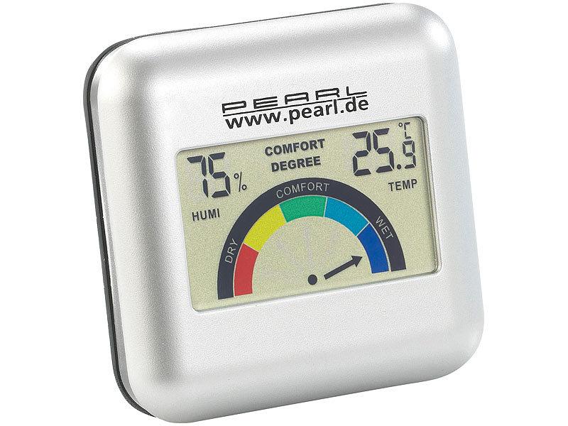 Digitales Hygrometer mit Thermometer mit grafischer Anzeige