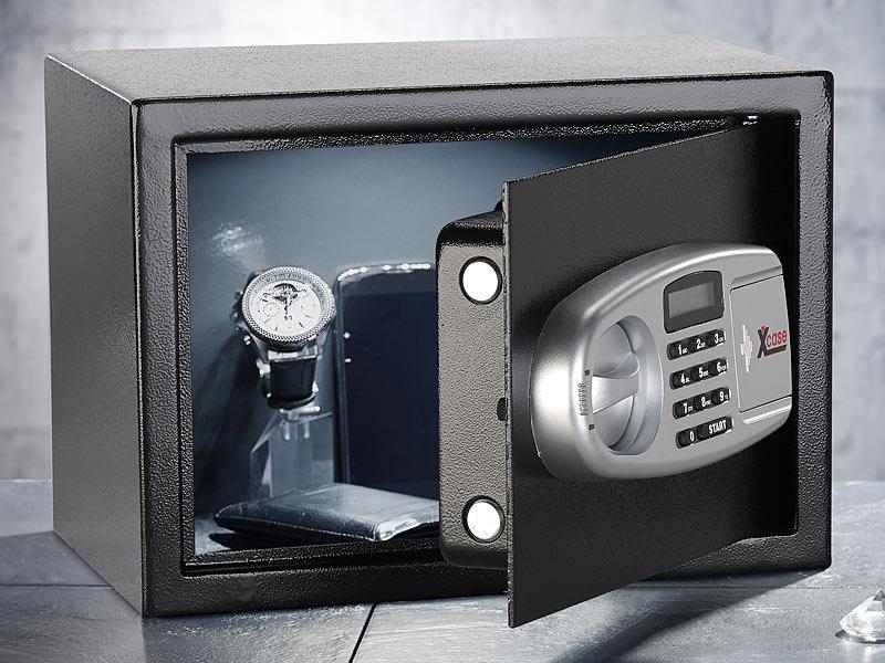 xcase stahlsafe viel sicherheit f r wenig geld. Black Bedroom Furniture Sets. Home Design Ideas