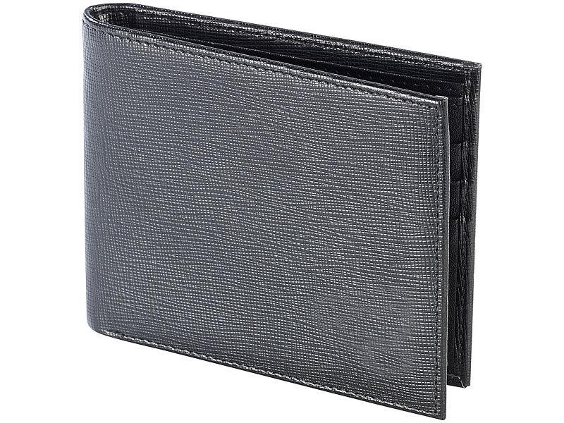 4aba9f3e828dc Carlo Milano Brieftaschen  Geldbeutel mit geripptem Echtleder ...