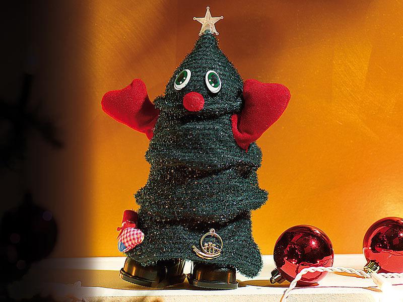 infactory tanzender weihnachtsbaum singender laufender. Black Bedroom Furniture Sets. Home Design Ideas