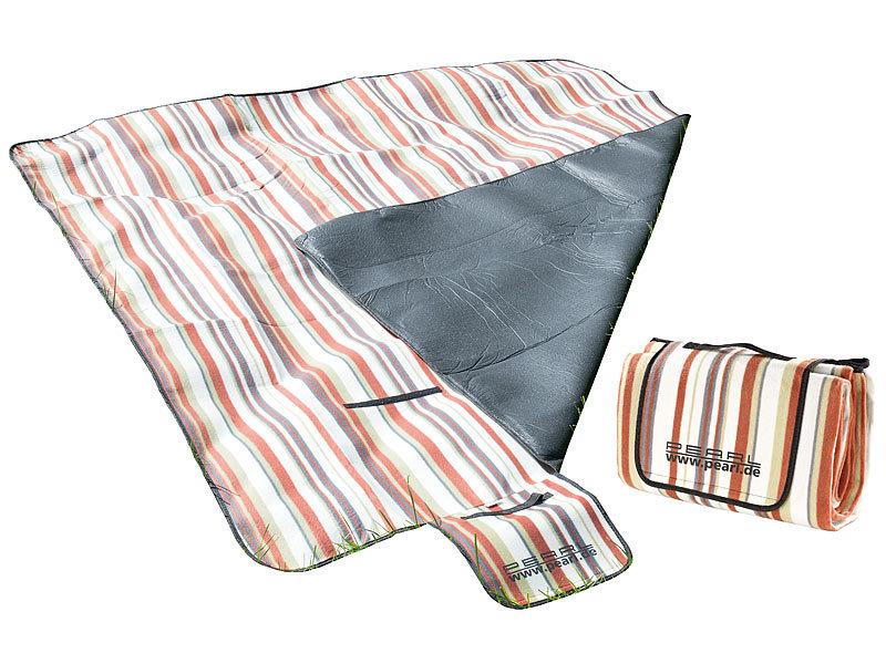pearl fleece picknick decke 200 x 175 cm wasserabweisende unterseite. Black Bedroom Furniture Sets. Home Design Ideas