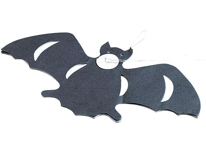 """Halloween-Girlande """"Graf Dracula"""", 5 Stück à 3 m"""