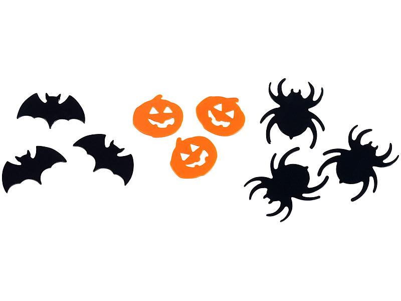 Infactory Dekos Halloween Halloween Konfetti In 3 Verschiedenen Motiven Halloween Artikel
