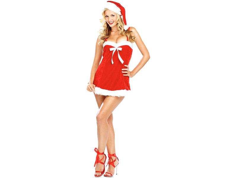 infactory kleider f r weihnachten weihnachtskleidchen aus. Black Bedroom Furniture Sets. Home Design Ideas