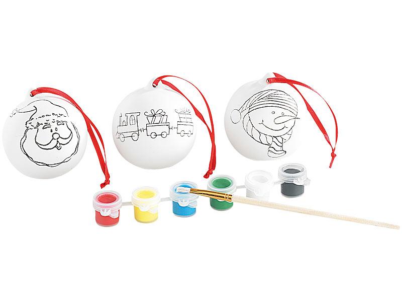 Your Design Deko Kugel: Keramik-Weihnachtskugeln zum Selbstbemalen ...