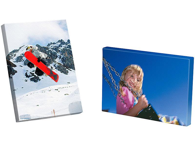 Your Design Fotopapier selbstklebend: Foto-Inkjet-Leinwand-Set zum ...