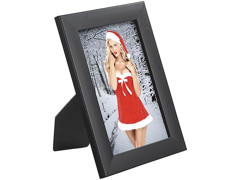 Your Design 10er-Set Bilderrahmen für Fotos mit 10 x 15 cm, schwarz