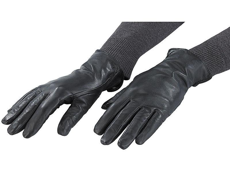 3c900d8fa72165 ... PEARL urban Damen-Handschuhe aus echtem Ziegenleder, Gr. XS bis 16,4
