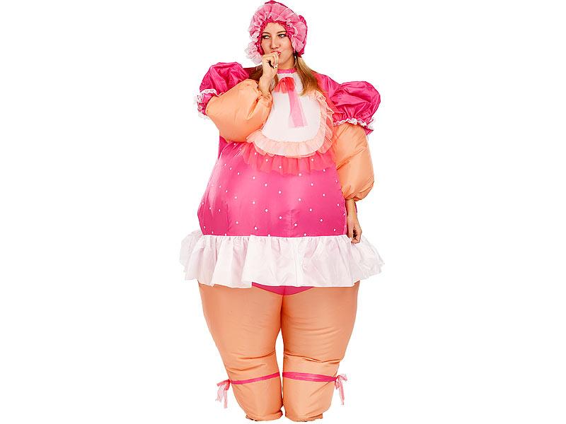 Playtastic Aufgeblasenes Kostum Selbstaufblasendes Kostum