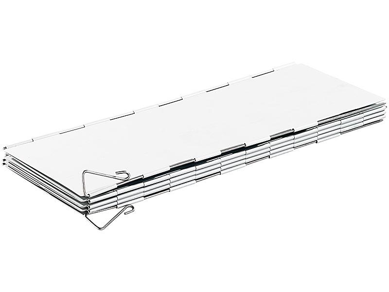 popschutz selber bauen, semptec windschutz campingkocher: faltbarer alu-windschutz für, Design ideen