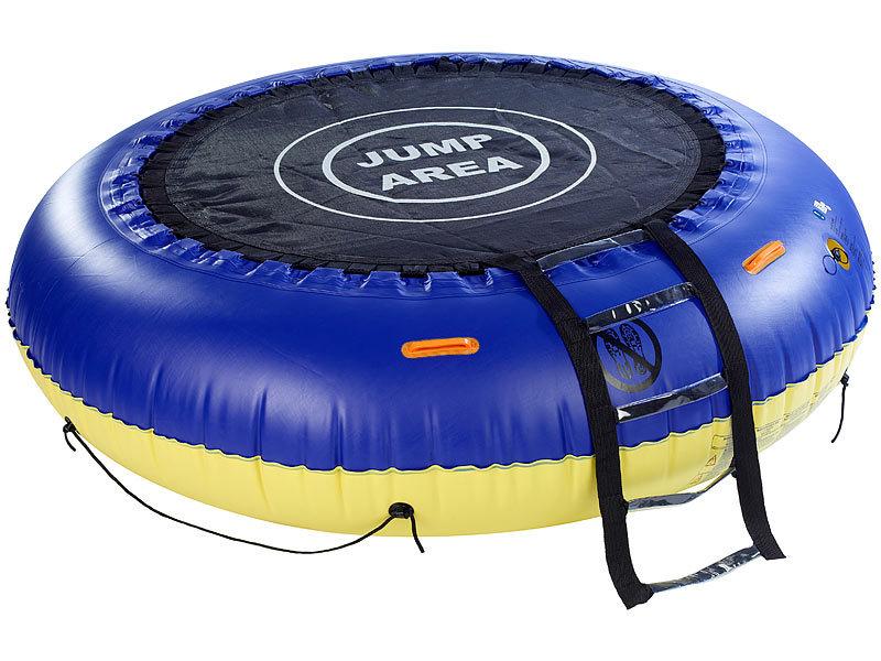 infactory wassertrampolin 4in1 trampolin f r wasser und. Black Bedroom Furniture Sets. Home Design Ideas