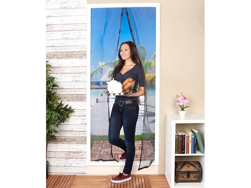 pearl fliegengitter t r selbstschlie endes fliegennetz. Black Bedroom Furniture Sets. Home Design Ideas