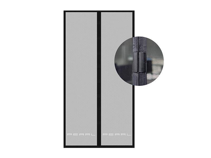 pearl fliegengittert r selbstschlie endes fliegennetz f r t ren mit 82 86 cm innendurchmesser. Black Bedroom Furniture Sets. Home Design Ideas